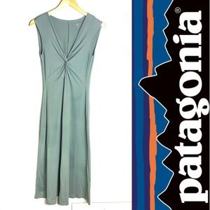 Patagonia Long Twist Front Dress